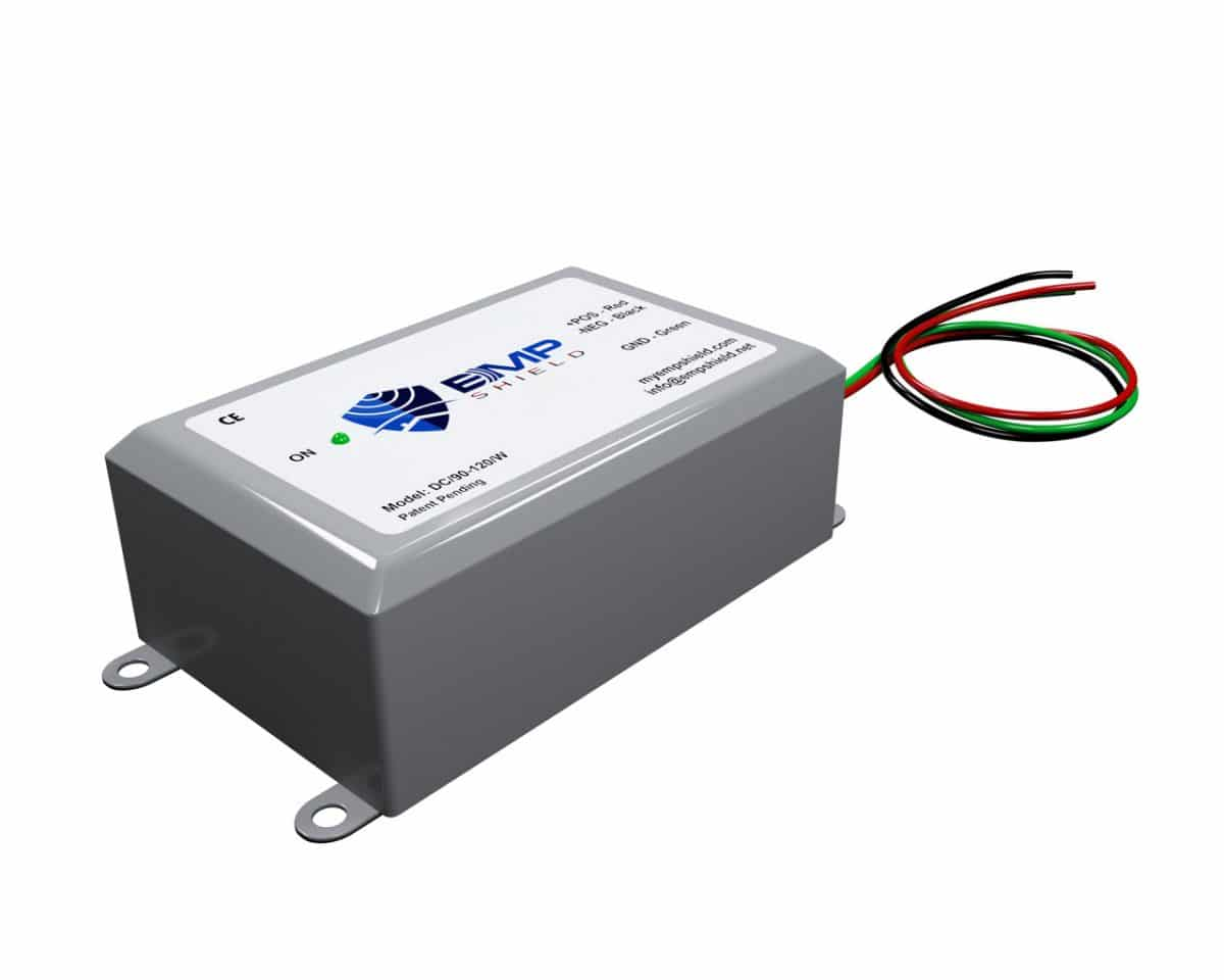 EMP Shield Solar DC 90-120 volt for off grid and grid tied solar systems