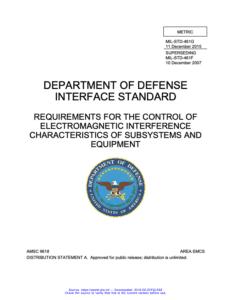 EMP Shield mil-std-461g