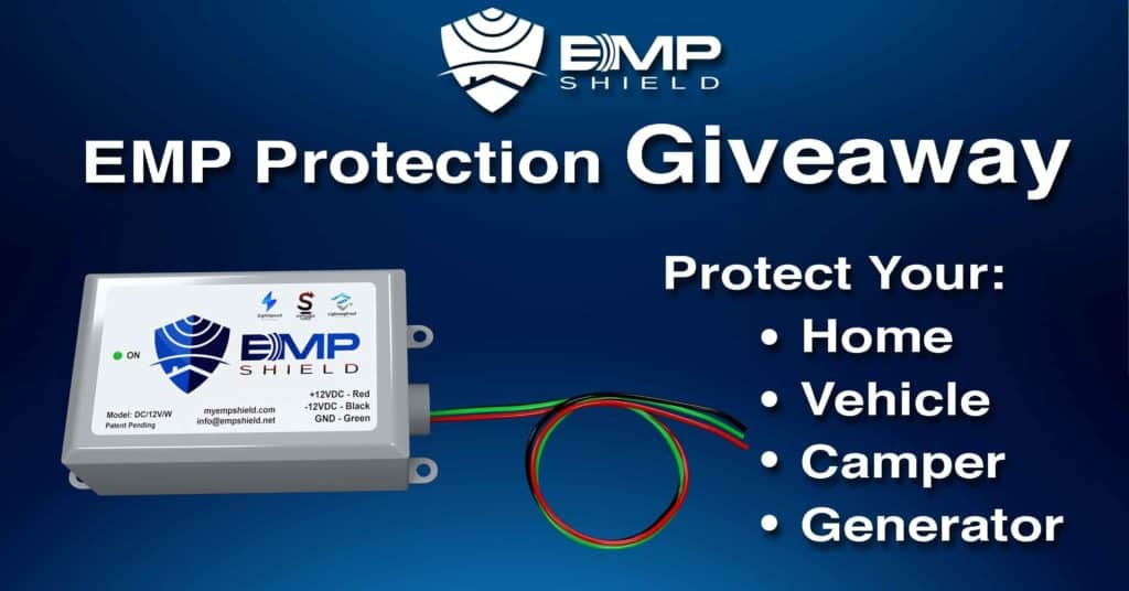 online contests, sweepstakes and giveaways - EMP Shield Giveaway | EMP Shield