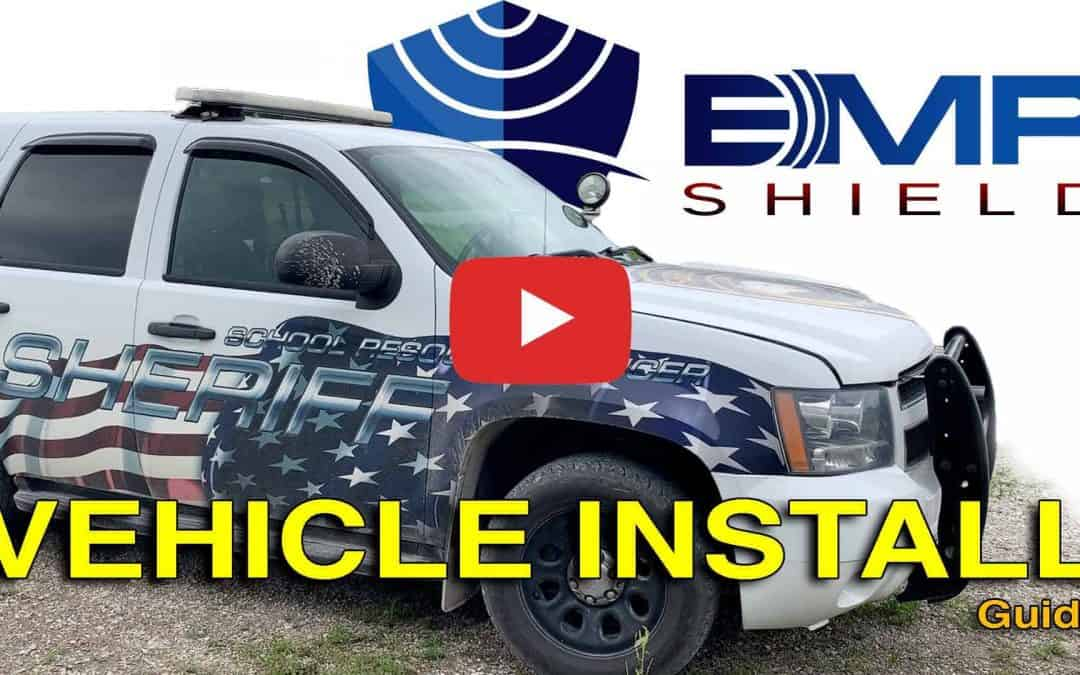 EMP Shield Vehicle Installation Instruction – Electromagnetic Pulse Protection on Police Car