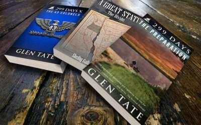 Win a FREE Signed Copy of 299 Days by Glen Tate & A Great State by Shelby Gallagher