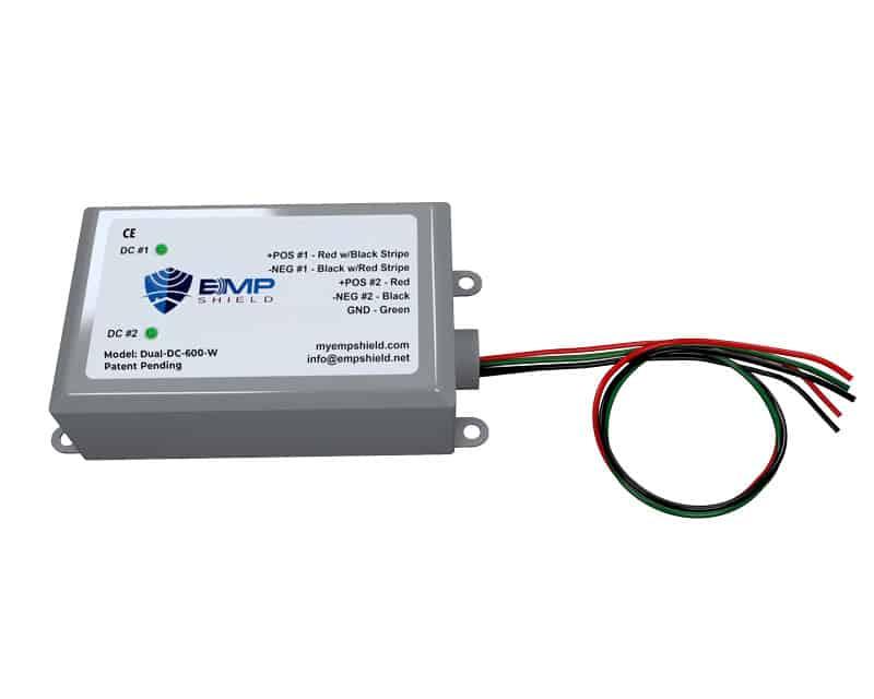 emp shield dual dc 600 volt