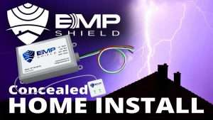 emp shield home installation lightning and solar flare protection