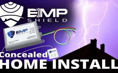 Concealed EMP Shield Installation – Home Electromagnetic Pulse and Lightning Protection