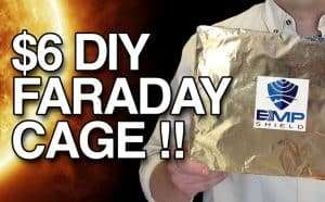 $6 faraday cage DIY tutorial cheap by emp shield