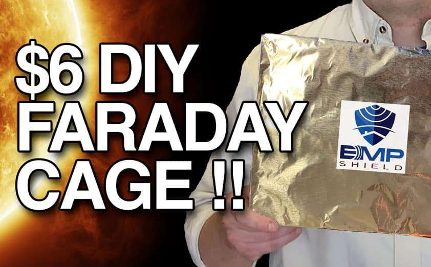 $6 DIY Faraday Cage EMP Protection