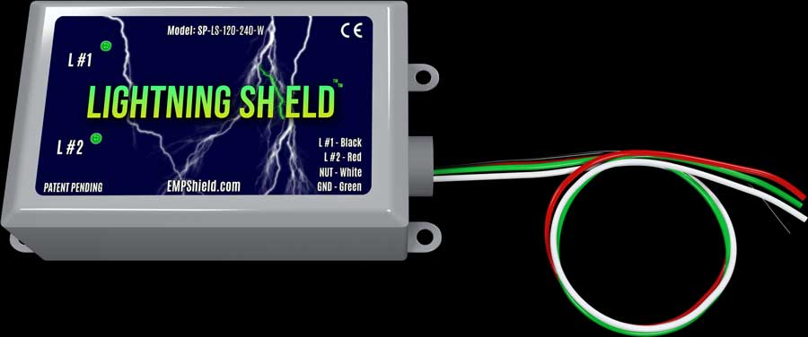 Lightning Shield Home Lightning Protection emp