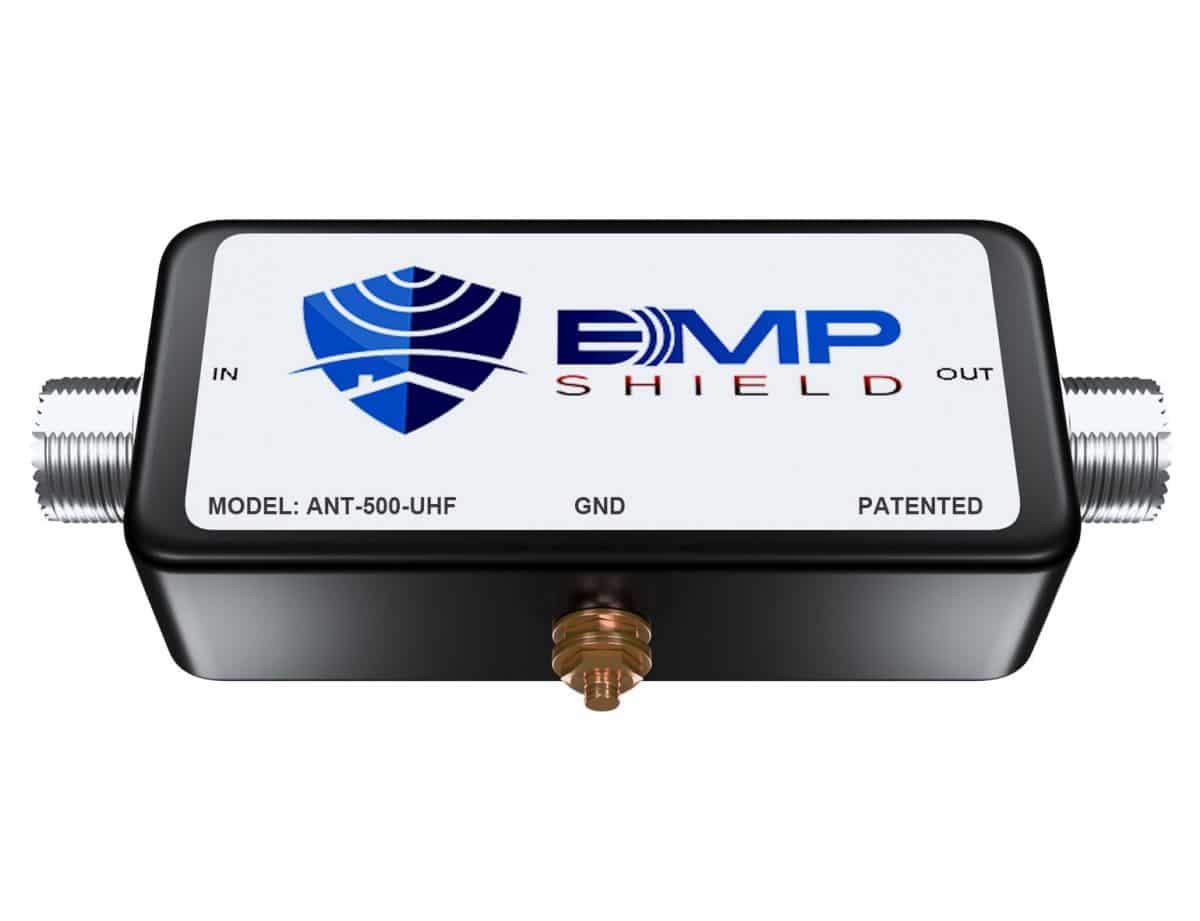 Antenna EMP Protection antenna 500 watts UHF connector