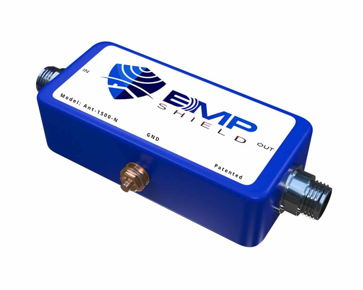 radio EMP Protection Antenna 1500 watts N connector