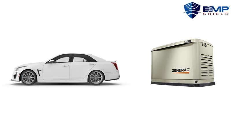 emp shield generator and vehicle bundle