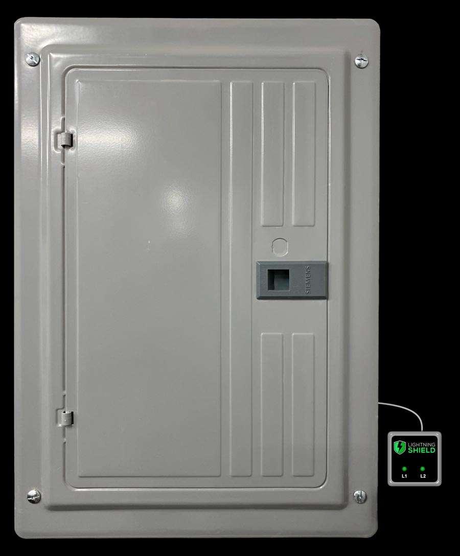 Lighting Shield Inside Flush Breaker Box