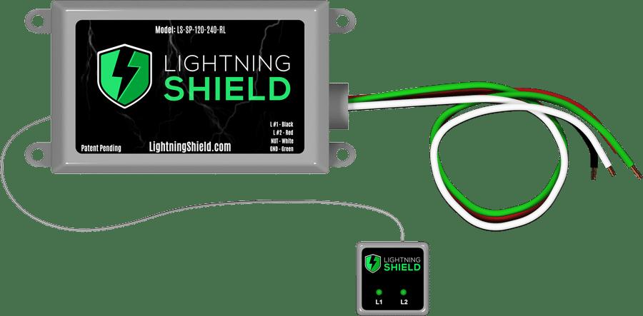 Lightning Shield Concealed Model Lighting Surge Protection